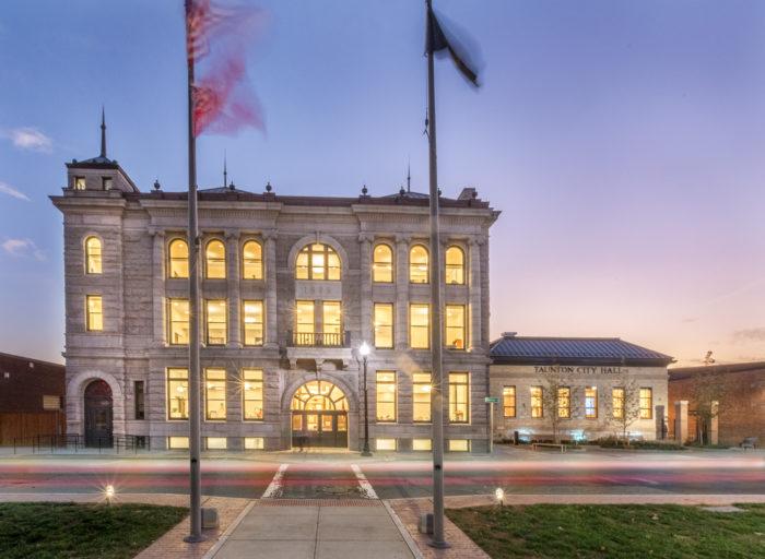 Taunton City Hall Massachusetts