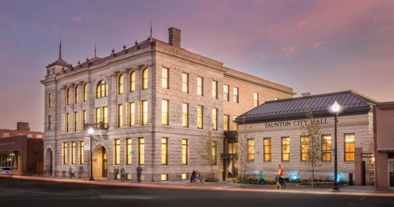 Taunton City Hall Massachusetts - Award Winning Architecture